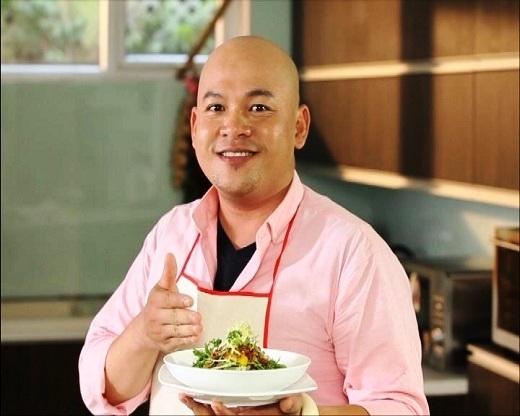 Món xà lách gạo Lứt phong cách siêu đầu bếp Alain Nghĩa